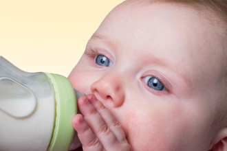 Проявления аллергии на молоко у малышей